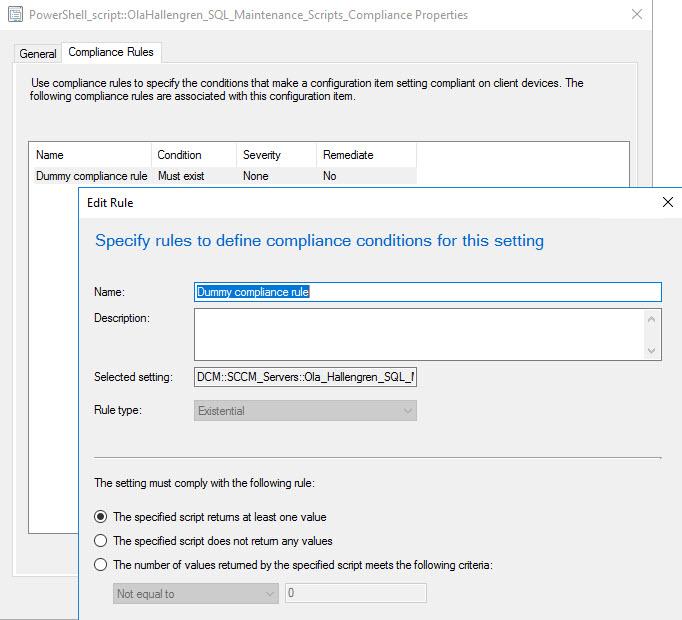 Simple SQL Maintenance for your SCCM / ConfigMgr environment